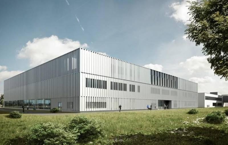 Der Forschungsbau SCALE entsteht in unmittelbarer Nähe zum Produktionstechnischen Zentrum Hannover (PZH).
